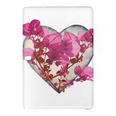 Heart Shaped with Flowers Digital Collage Samsung Galaxy Tab Pro 12.2 Hardshell Case