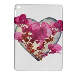 Heart Shaped with Flowers Digital Collage Apple iPad Air 2 Hardshell Case