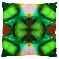 candy by saprillika Large Flano Cushion Case (Two Sides)