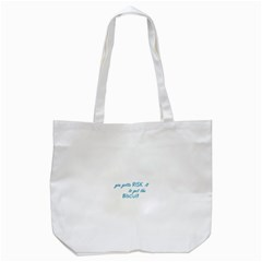 risk it Tote Bag (White)