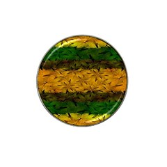 Tribal Floral Pattern Golf Ball Marker 4 Pack (for Hat Clip)
