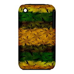 Tribal Floral Pattern Apple iPhone 3G/3GS Hardshell Case (PC+Silicone)