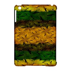 Tribal Floral Pattern Apple Ipad Mini Hardshell Case (compatible With Smart Cover)