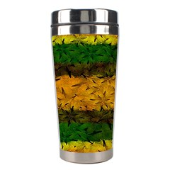Tribal Floral Pattern Stainless Steel Travel Tumbler