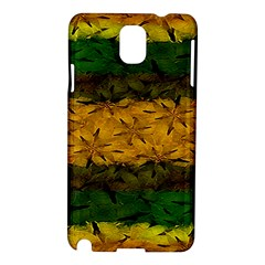 Tribal Floral Pattern Samsung Galaxy Note 3 N9005 Hardshell Case