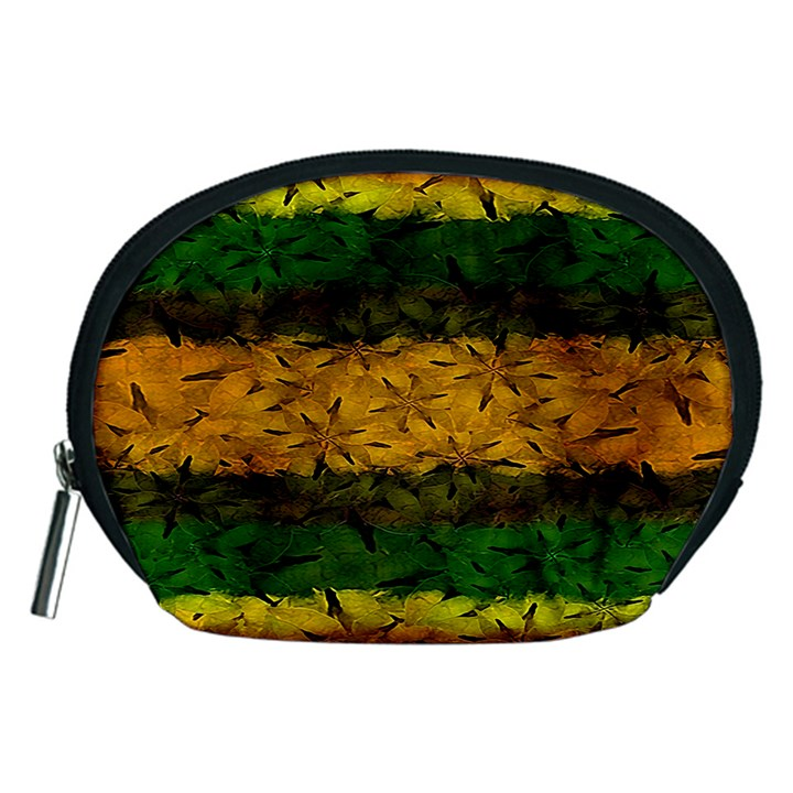 Tribal Floral Pattern Accessory Pouch (Medium)