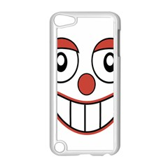 Happy Clown Cartoon Drawing Apple Ipod Touch 5 Case (white)