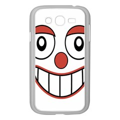 Happy Clown Cartoon Drawing Samsung Galaxy Grand DUOS I9082 Case (White)