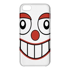 Happy Clown Cartoon Drawing Apple iPhone 5C Hardshell Case