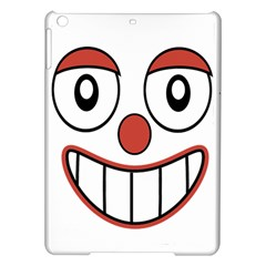 Happy Clown Cartoon Drawing Apple iPad Air Hardshell Case
