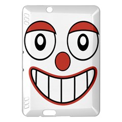 Happy Clown Cartoon Drawing Kindle Fire HDX Hardshell Case
