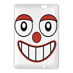 Happy Clown Cartoon Drawing Kindle Fire HDX 8.9  Hardshell Case