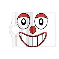 Happy Clown Cartoon Drawing Kindle Fire Hd (2013) Flip 360 Case