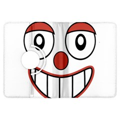 Happy Clown Cartoon Drawing Kindle Fire HDX Flip 360 Case