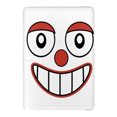 Happy Clown Cartoon Drawing Samsung Galaxy Tab Pro 10.1 Hardshell Case