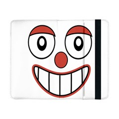 Happy Clown Cartoon Drawing Samsung Galaxy Tab Pro 8 4  Flip Case