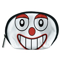 Happy Clown Cartoon Drawing Accessory Pouch (medium)