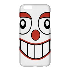 Happy Clown Cartoon Drawing Apple iPhone 6 Plus Hardshell Case