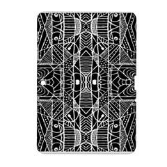 Black and White Tribal Geometric Pattern Print Samsung Galaxy Tab 2 (10.1 ) P5100 Hardshell Case