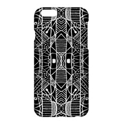 Black And White Tribal Geometric Pattern Print Apple Iphone 6 Plus Hardshell Case