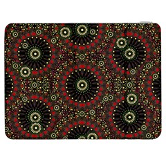 Digital Abstract Geometric Pattern in Warm Colors Samsung Galaxy Tab 7  P1000 Flip Case
