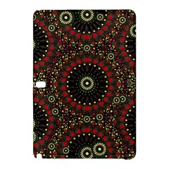 Digital Abstract Geometric Pattern in Warm Colors Samsung Galaxy Tab Pro 10.1 Hardshell Case
