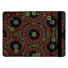 Digital Abstract Geometric Pattern in Warm Colors Samsung Galaxy Tab Pro 12.2  Flip Case