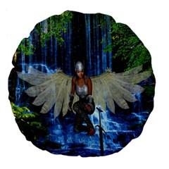 Magic Sword 18  Premium Flano Round Cushion