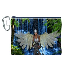 Magic Sword Canvas Cosmetic Bag (Large)