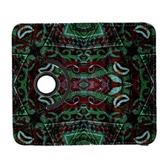 Tribal Ornament Pattern In Red And Green Colors Samsung Galaxy S  Iii Flip 360 Case