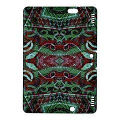 Tribal Ornament Pattern In Red And Green Colors Kindle Fire Hdx 8 9  Hardshell Case