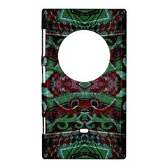 Tribal Ornament Pattern in Red and Green Colors Nokia Lumia 1020 Hardshell Case