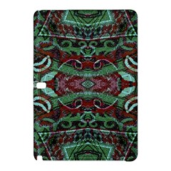 Tribal Ornament Pattern in Red and Green Colors Samsung Galaxy Tab Pro 10.1 Hardshell Case