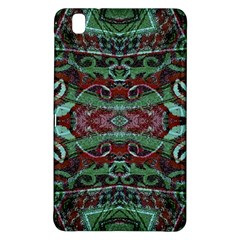 Tribal Ornament Pattern in Red and Green Colors Samsung Galaxy Tab Pro 8.4 Hardshell Case