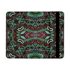 Tribal Ornament Pattern In Red And Green Colors Samsung Galaxy Tab Pro 8 4  Flip Case