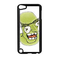 Mad Monster Man with Evil Expression Apple iPod Touch 5 Case (Black)