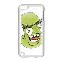 Mad Monster Man with Evil Expression Apple iPod Touch 5 Case (White)