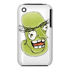 Mad Monster Man With Evil Expression Apple Iphone 3g/3gs Hardshell Case (pc+silicone)