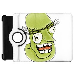 Mad Monster Man with Evil Expression Kindle Fire HD Flip 360 Case