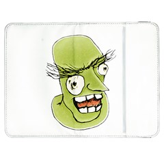 Mad Monster Man with Evil Expression Samsung Galaxy Tab 7  P1000 Flip Case