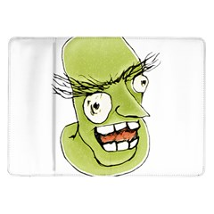 Mad Monster Man with Evil Expression Samsung Galaxy Tab 10.1  P7500 Flip Case