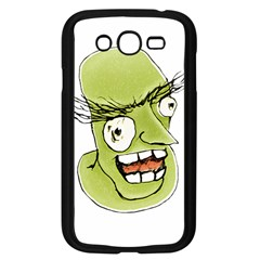 Mad Monster Man With Evil Expression Samsung Galaxy Grand Duos I9082 Case (black)