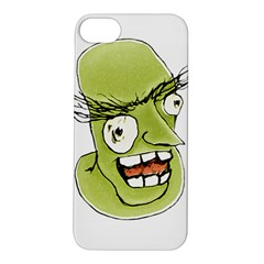 Mad Monster Man with Evil Expression Apple iPhone 5S Hardshell Case