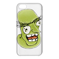Mad Monster Man With Evil Expression Apple Iphone 5c Hardshell Case