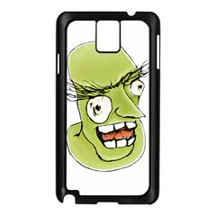 Mad Monster Man With Evil Expression Samsung Galaxy Note 3 N9005 Case (black)