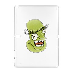 Mad Monster Man with Evil Expression Samsung Galaxy Note 10.1 (P600) Hardshell Case