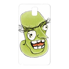 Mad Monster Man With Evil Expression Samsung Galaxy Note 3 N9005 Hardshell Back Case