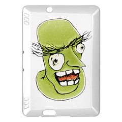 Mad Monster Man with Evil Expression Kindle Fire HDX Hardshell Case