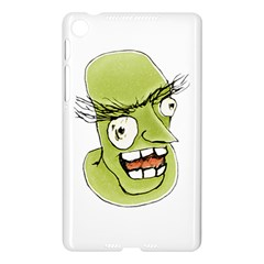 Mad Monster Man with Evil Expression Google Nexus 7 (2013) Hardshell Case