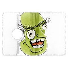 Mad Monster Man with Evil Expression Kindle Fire HDX Flip 360 Case